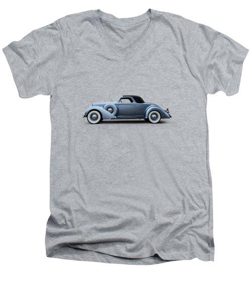 Thirty-six Lincoln Men's V-Neck T-Shirt
