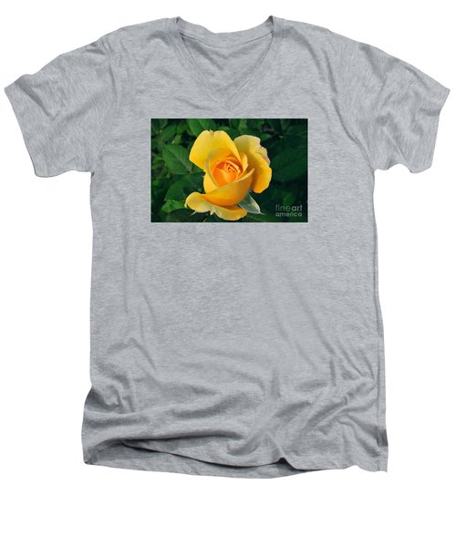 This Bud's For You Men's V-Neck T-Shirt by Sandy Molinaro