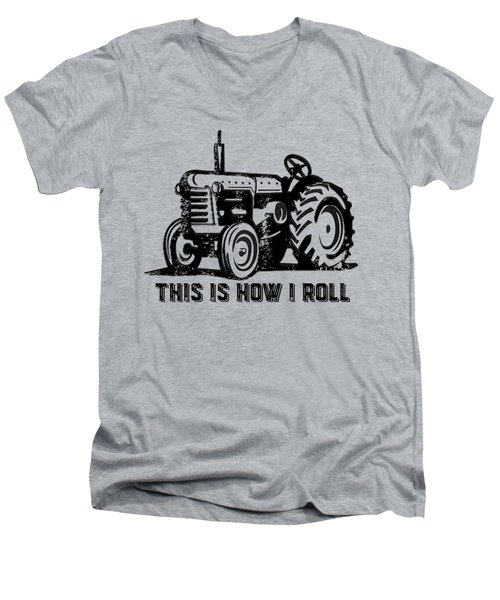 This Is How I Roll Tee Men's V-Neck T-Shirt