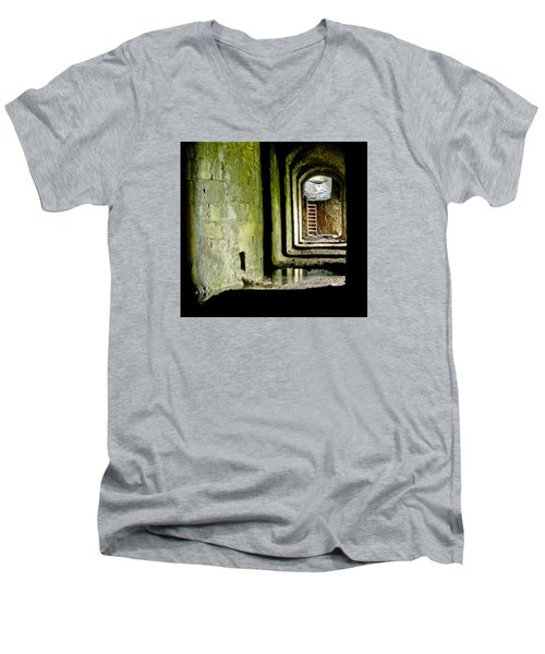 This Is The End. Abandoned. Men's V-Neck T-Shirt