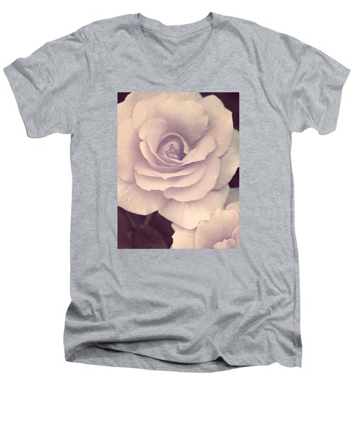 Men's V-Neck T-Shirt featuring the photograph This Sweet Romance by The Art Of Marilyn Ridoutt-Greene