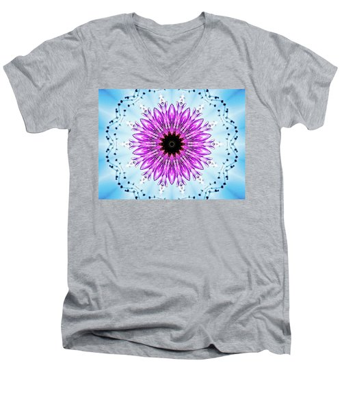 Thistle Manipulation  Men's V-Neck T-Shirt