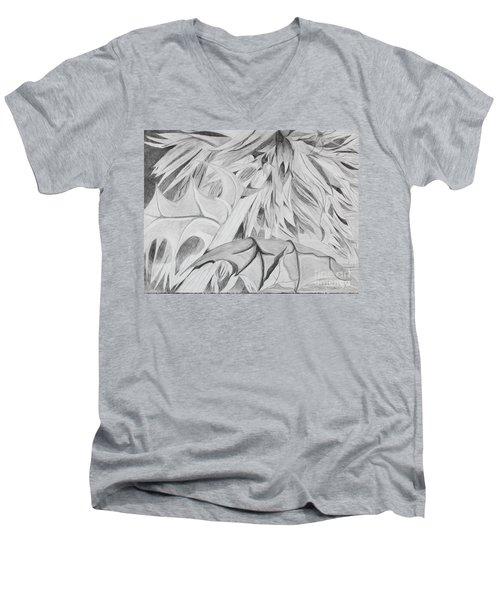 Thistle Men's V-Neck T-Shirt