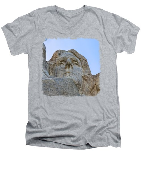 Thomas Jefferson 3 Men's V-Neck T-Shirt