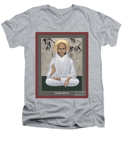 Thomas Merton - Rltmr Men's V-Neck T-Shirt