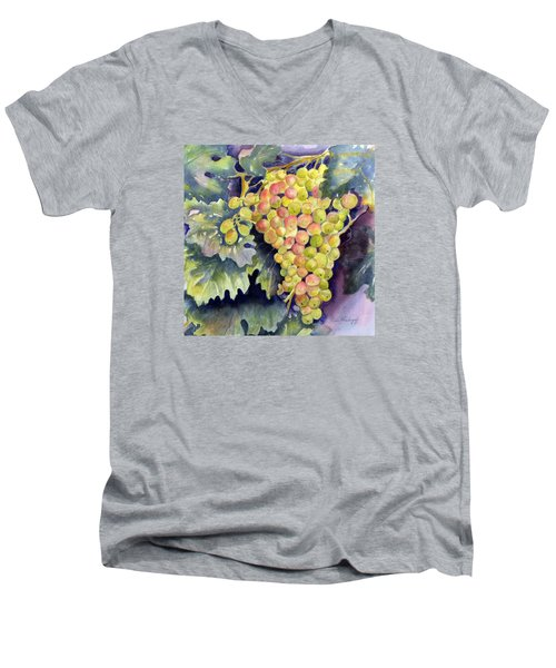 Thompson Grapes Men's V-Neck T-Shirt