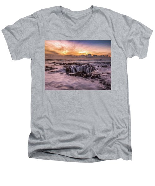 Thor's Well Men's V-Neck T-Shirt