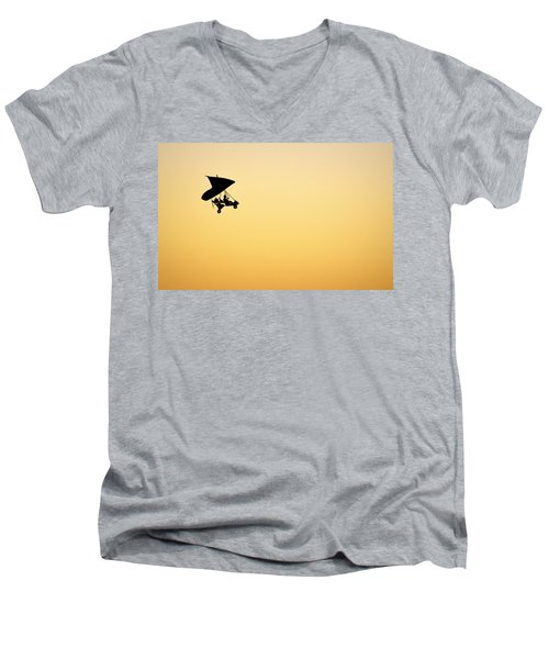 Those Magnificent Men In Their Flying Machines Men's V-Neck T-Shirt