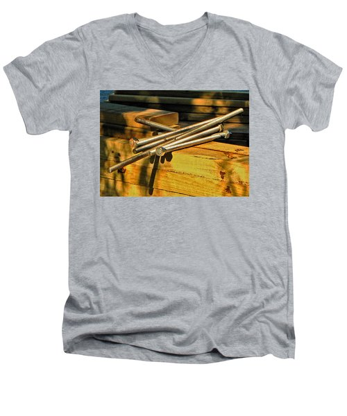 Threads And Grains Men's V-Neck T-Shirt
