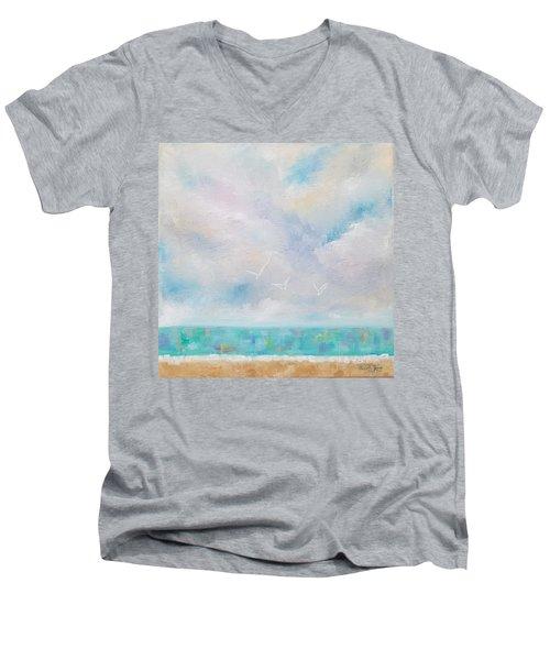 Three By The Sea Men's V-Neck T-Shirt