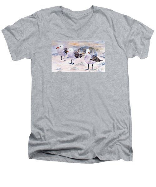 Three Carmelites Men's V-Neck T-Shirt