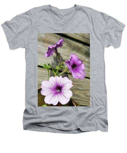 Three For Me Men's V-Neck T-Shirt