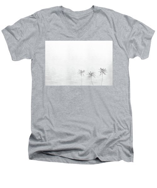 Three Palms Men's V-Neck T-Shirt