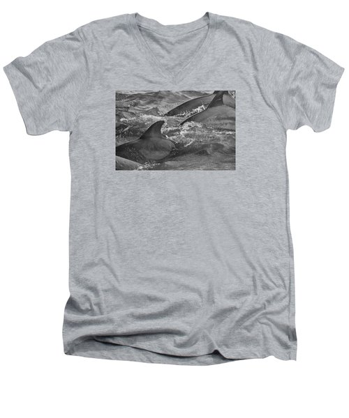Three Peas In A Pod Men's V-Neck T-Shirt