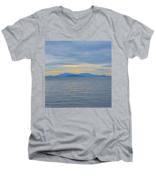 Three Realms/dusk Men's V-Neck T-Shirt