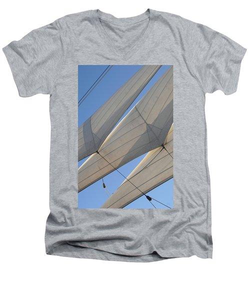 Three Sails Men's V-Neck T-Shirt
