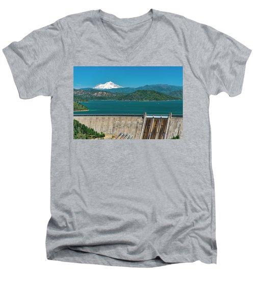 Three Shastas Men's V-Neck T-Shirt