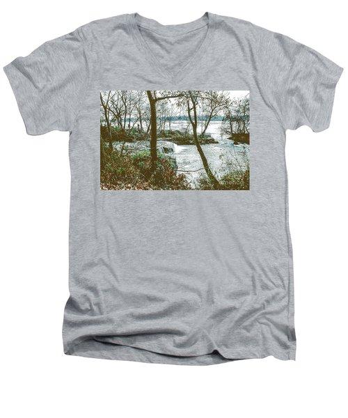 Three Sisters Island Men's V-Neck T-Shirt