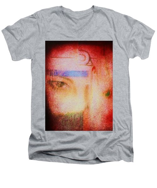 Through A Glass Darkly Men's V-Neck T-Shirt