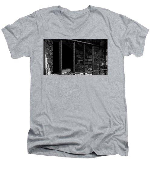 Through The Bars 2 Men's V-Neck T-Shirt