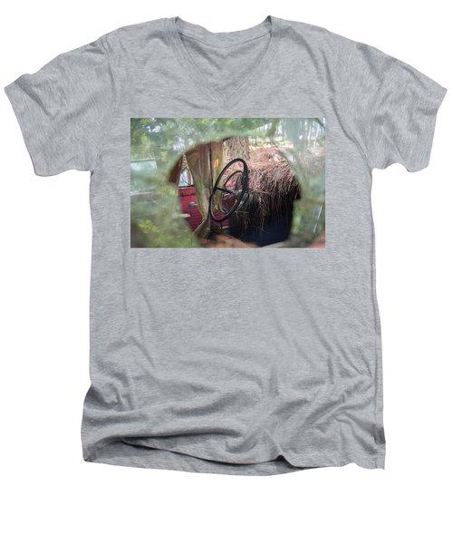 Through The Glass Men's V-Neck T-Shirt
