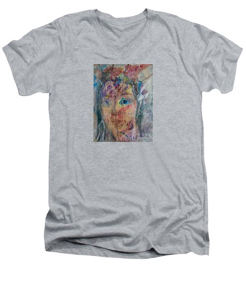 Through The Looking Glass Men's V-Neck T-Shirt