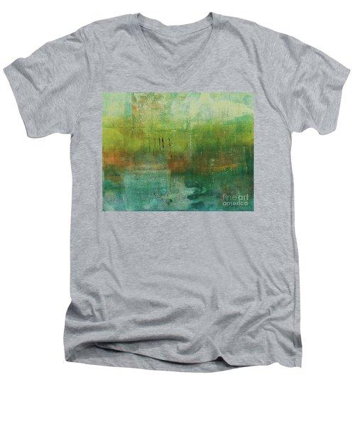 Through The Mist Men's V-Neck T-Shirt