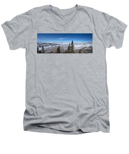 Through The Pines Men's V-Neck T-Shirt
