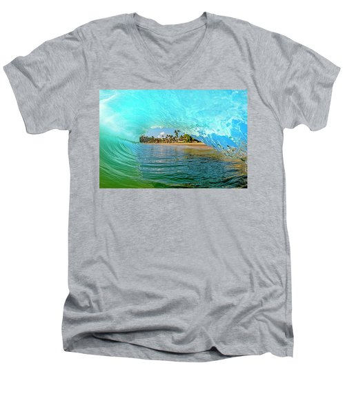 Thru The Looking Glass Men's V-Neck T-Shirt by James Roemmling
