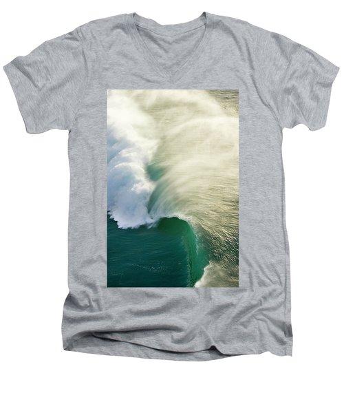 Thunder Curl Men's V-Neck T-Shirt