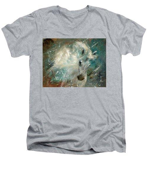 Poseiden's Thunder Men's V-Neck T-Shirt