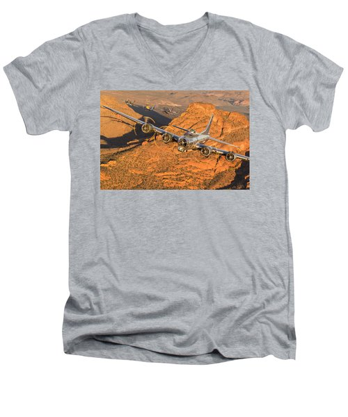 Thunder On The Mountain Men's V-Neck T-Shirt