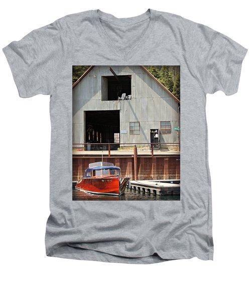 Thunderchick Men's V-Neck T-Shirt