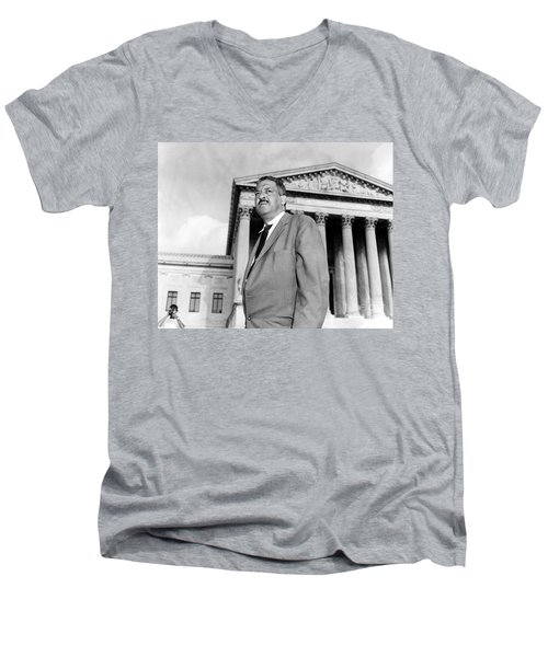 Thurgood Marshall Men's V-Neck T-Shirt