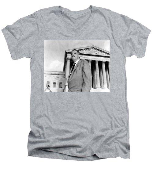 Thurgood Marshall Men's V-Neck T-Shirt