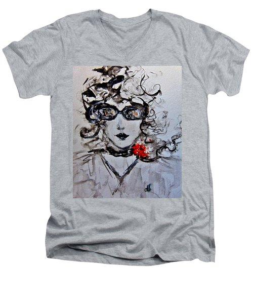 Thursday Morning.. Men's V-Neck T-Shirt by Cristina Mihailescu