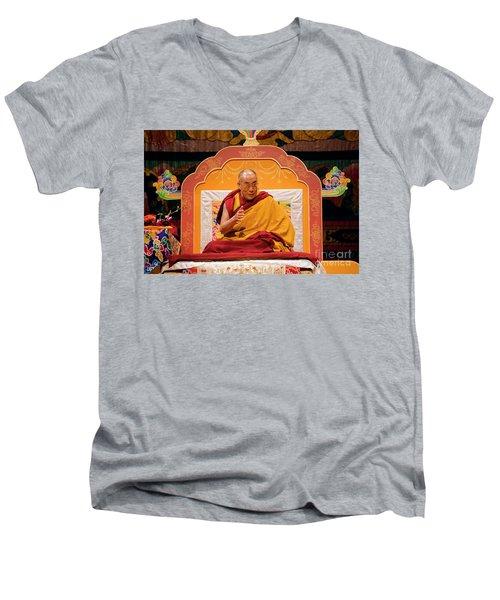 Tibetan_d130 Men's V-Neck T-Shirt