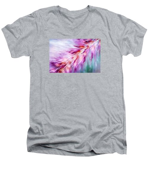 Men's V-Neck T-Shirt featuring the photograph Tickle My Fancy by Carolyn Marshall