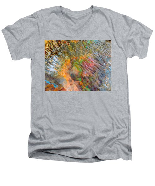 Tidal Pool And Coral Men's V-Neck T-Shirt