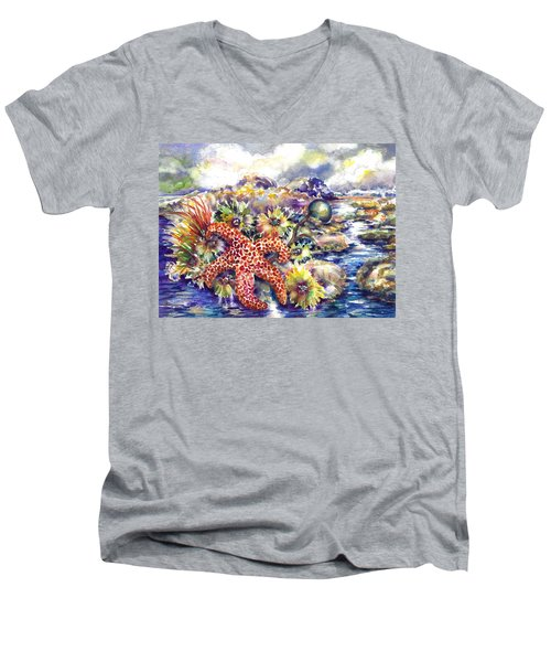 Tidal Pool I Men's V-Neck T-Shirt