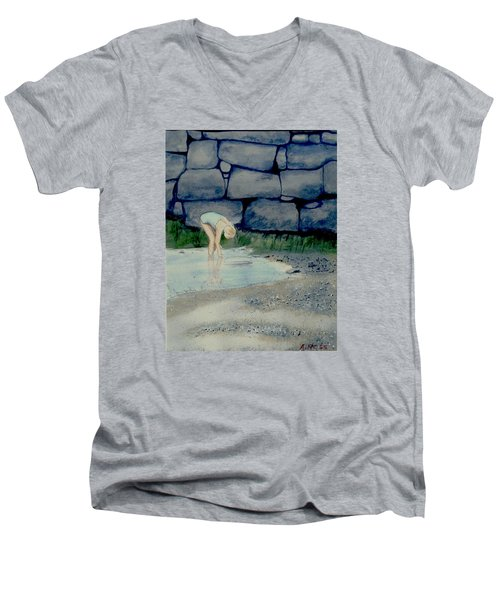 Tidal Pool Treasures Men's V-Neck T-Shirt