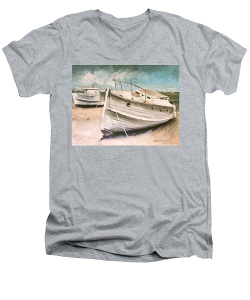 Tide Is Out Men's V-Neck T-Shirt