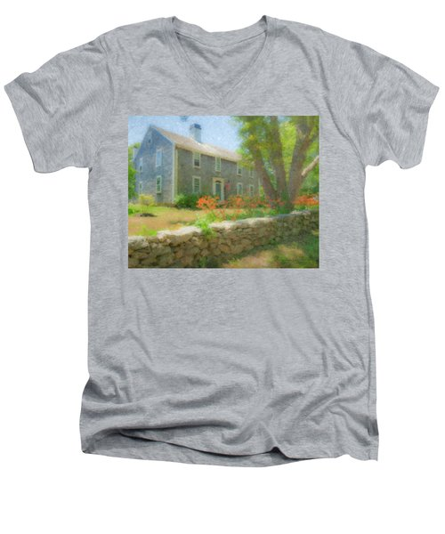 Tiger Lillies  Men's V-Neck T-Shirt