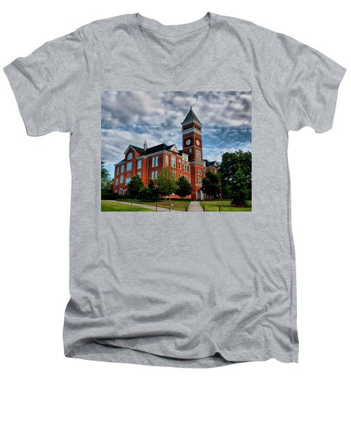 Tillman Hall Men's V-Neck T-Shirt