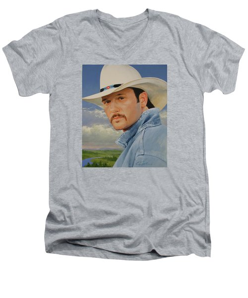 Tim Mcgraw Men's V-Neck T-Shirt