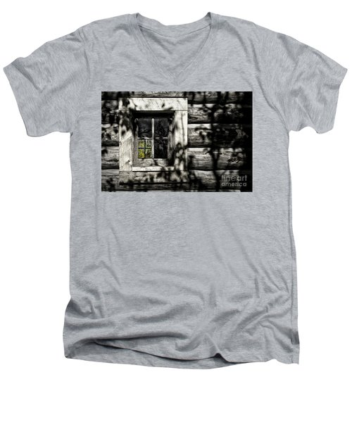 Timber Hand-crafted Men's V-Neck T-Shirt
