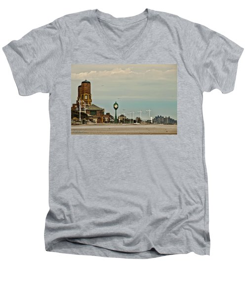 Time Flies Men's V-Neck T-Shirt