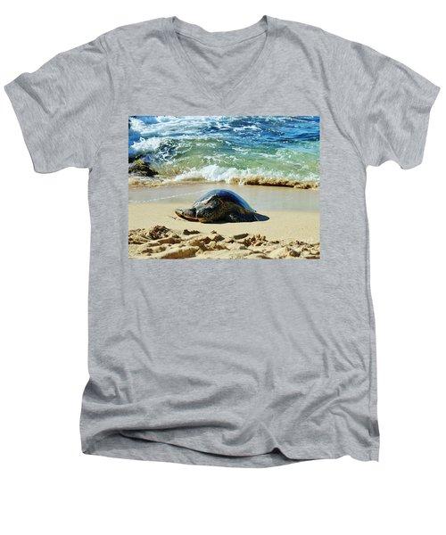 Time For A Rest Men's V-Neck T-Shirt