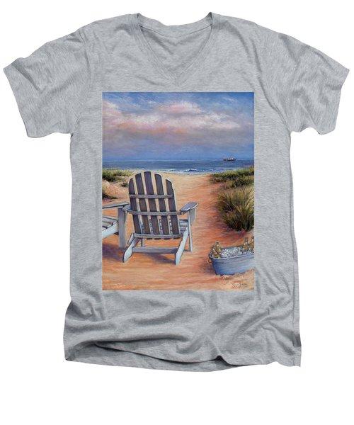 Time To Chill Men's V-Neck T-Shirt