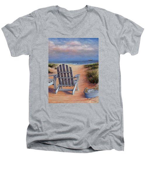 Time To Chill Men's V-Neck T-Shirt
